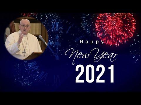Đức Thánh Cha Phanxico chúc mừng năm mới 2021