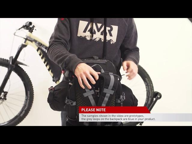 Видео Сумка на руль Ghost AMR