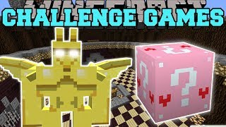 Minecraft: GARGOYLE CHALLENGE GAMES - Lucky Block Mod - Modded Mini-Game