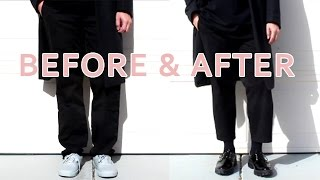 HOW-TO CROP A PAIR OF PANTS I MENS FASHION