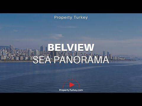 Sea view designer apartments in Istanbul for sale