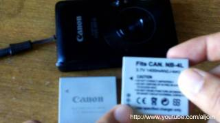 NB-4L NB4L Battery For Canon Review