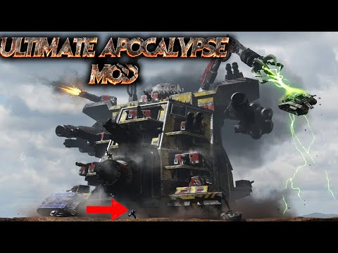 Download Its A Gargant World Ultimate Apocalypse Mod Dawn Of War Soulstorm HD Mp4 3GP Video and MP3