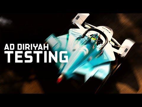 Historic Gen2 Testing In Ad Diriyah | ABB FIA Formula E Championship