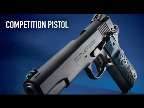 Colt Competition Pistol Is Race Ready