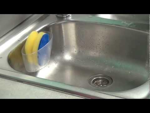 Video TESCOMA kuchyňské houbičky CLEAN KIT, 3 ks, na jemné povrchy 2