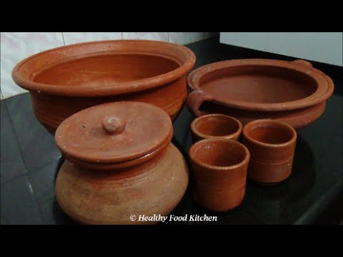 How to buy & use mud vessels By Healthy Food Kitchen