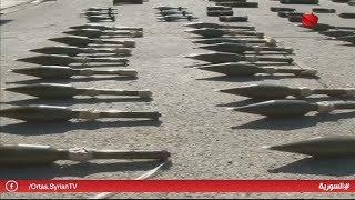 حمص - العثور على مستودع ذخيرة من مخلفات التنظيمات الإرهابية بالريف الشمالي 20.06.2019