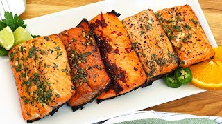 5 EASY Salmon Marinades!