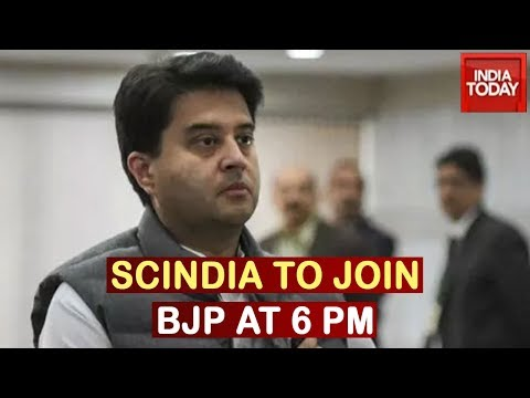 MP Political Crisis: Jyotiraditya Scindia All Set To Join BJP At 6 PM Today