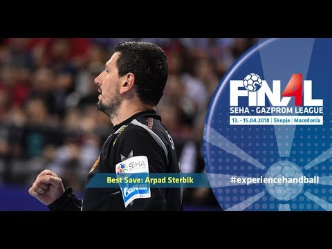 Final 4: Best save - Arpad Sterbik (Vardar vs Meshkov Brest)