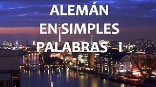 Alemán (Lección 1) Pronunciación