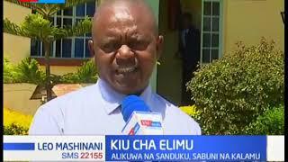 Mwanafunzi ashangaza walimu kwa kuripoti shuleni saa tisa usiku mkoni akiwa na sabuni mbili