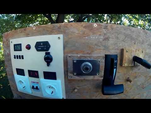 Stromerzeuger/Stromaggregat selbst gebaut
