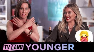 Know Your Emoji - Cross Arms | Younger | TV Land