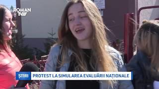 Protest La Simularea Evaluării Naționale