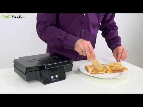 Krups FDK 451 Sandwichmaker Test