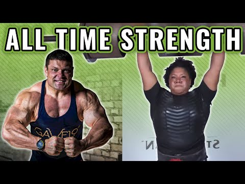 The Heaviest Log Presses of All Time (Men's and Women's Strongman)