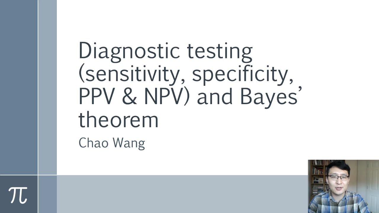 Diagnostic testing and Bayes' theorem