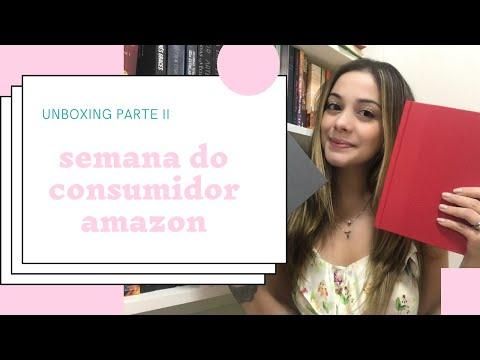 UNBOXING SEMANA DO CONSUMIDOR parte 2 LIVROS GRINGOS