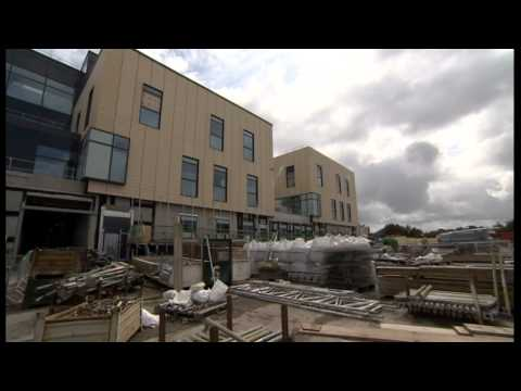 BBC Points West takes a look around the Brunel Building Southmead Hospital Bristol