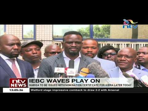 Kibra by-election: IEBC gives Mcdonald Mariga green light