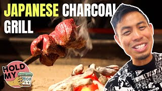Rare Japanese Charcoal Grill Cuisine | Hold My Miso
