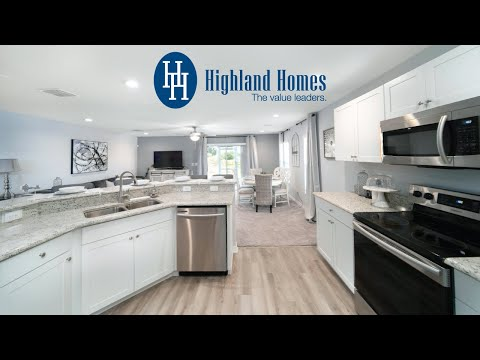Magnolia Townhome by Highland Homes - Metro Orlando New Homes for Sale