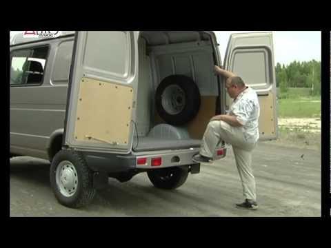 Соболь Фургон видео