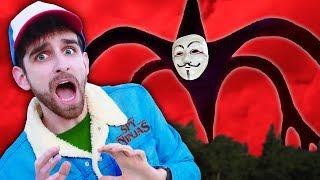 SPY NINJAS in DISGUISE as STRANGER THINGS - Monster Hacker Battle to Win Secret Mystery Hatch Device