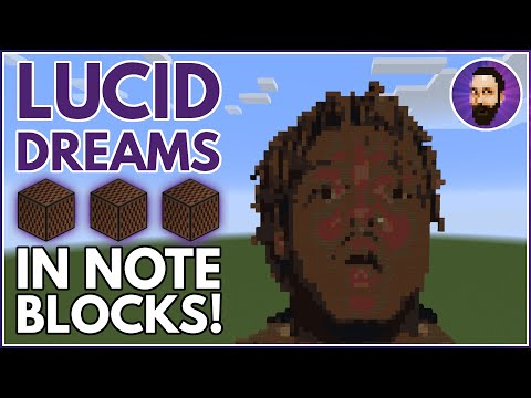 Juice WRLD - Lucid Dreams   Minecraft Note Block Music Minecraft Project