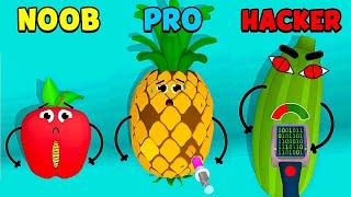 NOOB Vs PRO Vs HACKER - Fruit Clinic