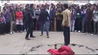 preview picture of video 'Janakpur Monastic Leo Club Street Drama on Women Violence'