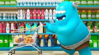 Spookiz   Shopping Spree   스푸키즈   Funny Cartoon   Kids Cartoons   Videos for Kids