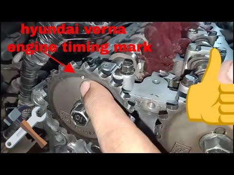 how Hyundai Verna,i20,creta xcent elentra Hyundai sonata all Hyundai 1.4 & 1.6 Diesel engine timing