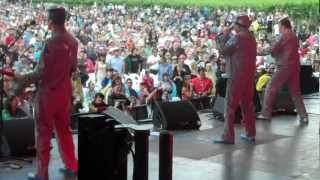 "DEVO: ""Don't Shoot (I'm A Man)"" - 12/1/12 - Yarra Valley, Australia"