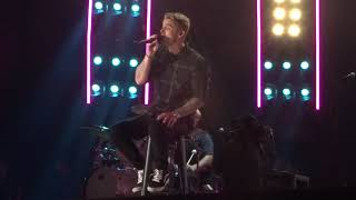 "Brett Young Sings ""Mercy"" Live At CMA Fest"