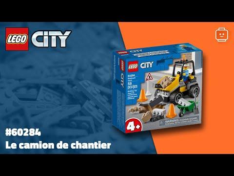 Vidéo LEGO City 60284 : Le camion de chantier