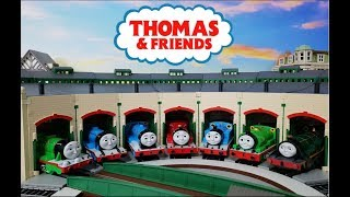 (NO.66)Thomas And Friends BACHMANN Tidmouth Sheds Unboxing And Assembly 토마스와 친구들 차고 きかんしゃトーマス 機関庫