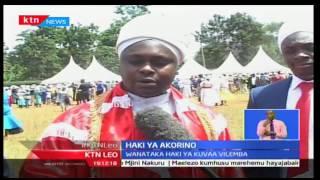 KTN Leo: Wakorino walalamika kutengwa na serikali wakiwa katika hafla ya maombi  Embu , 3/10/2016
