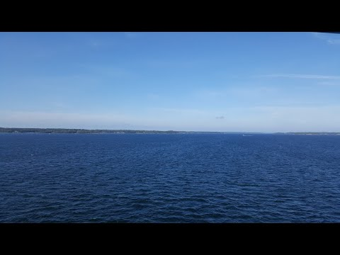 Goes With M/S Galaxy In The Stockholm Archipelago