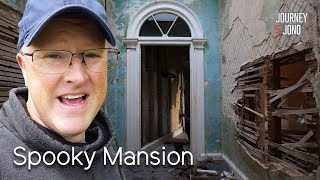 Derelict Mansion On River Thames, Light & Horn Install