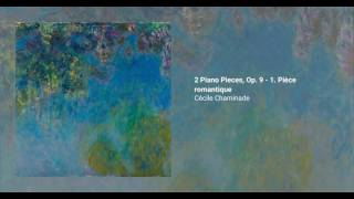 2 Piano Pieces, Op. 9