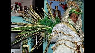 Escola de Samba de São Paulo doa fantasia a eterna rainha do carnaval de Conceição