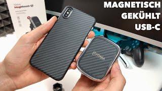 Pitaka Mag Mount Qi - KFZ Smartphone Halterung mit Stil und Köpfchen im Test Review