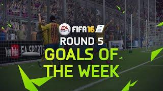 FIFA 16 - Best Goals Of The Week - Round 5