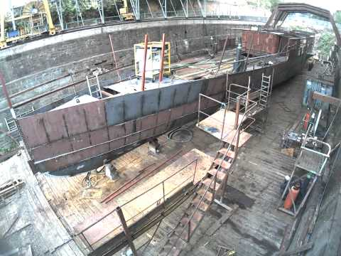 The Medway Queen Rebuild - In 3 minutes - Bow End