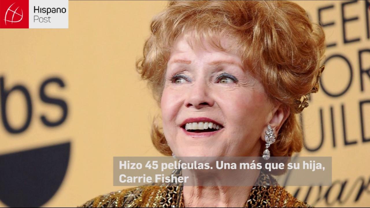 Debbie Reynolds: una trayectoria de éxitos y desamores
