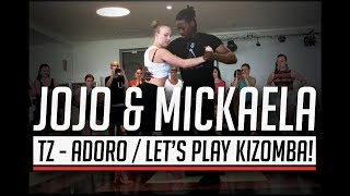 TZ - Adoro / Jojo & Mickaela Urban Kiz Dance #letsplaykizomba @ Barcelona Temptation Festival 2017