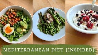 Mediterranean Diet 🍋 What I Eat In A Day